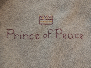 Prince of Peace. Isaiah 9:6