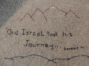And Israel took his journey. Genesis 46:1