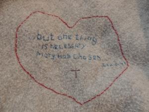 Mary has chosen...Luke 10:42