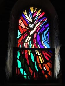 Window to behold Jesus