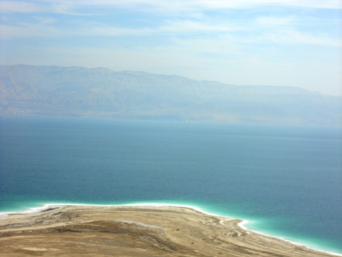 Dead Sea – the road by which I went.