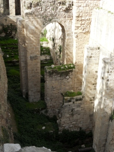 """""""Now there is in Jerusalem by the Sheep Gate a pool...which has five roofed colonnades."""" John 5:2 (ESV)"""