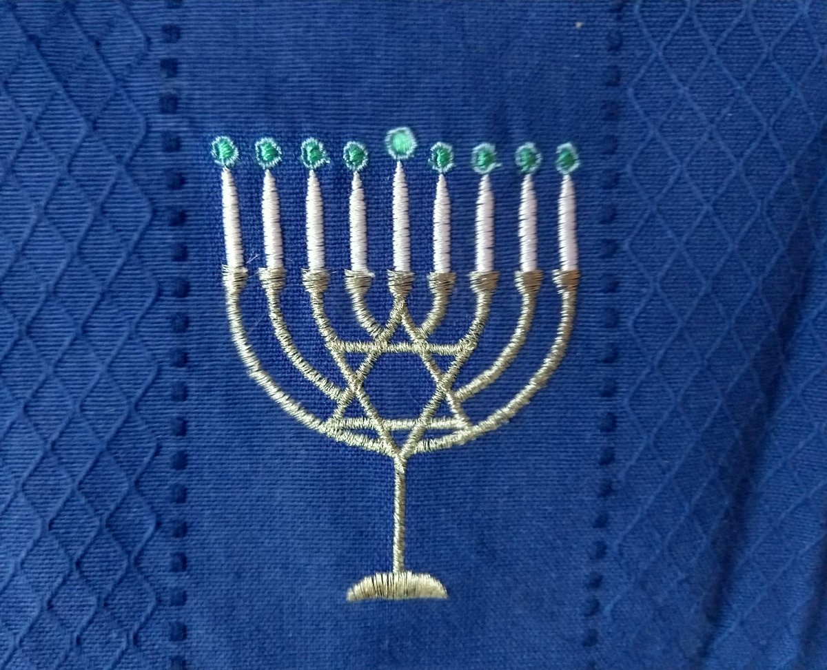 Hanukkah – The Center of Grace